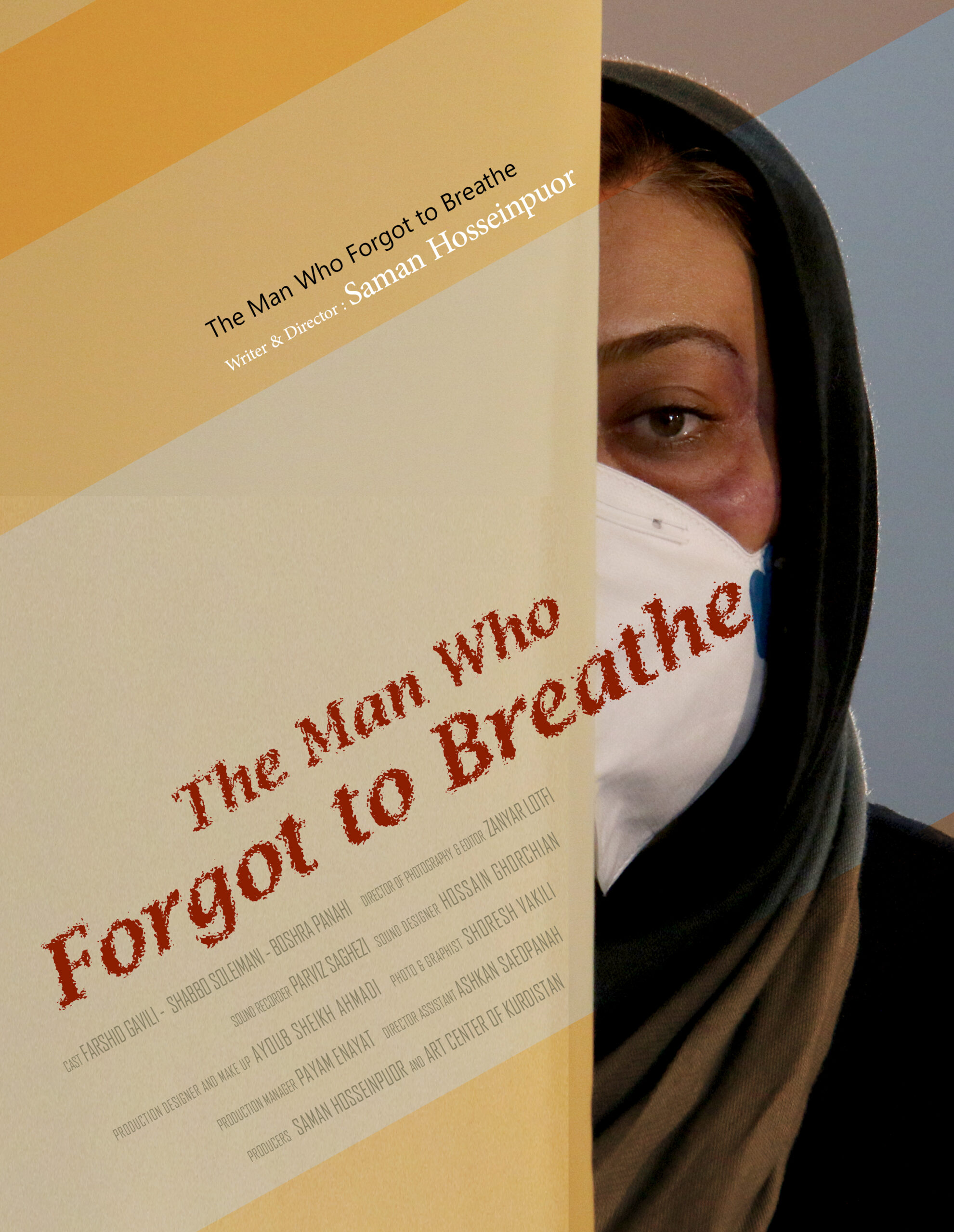 Wearing Masks and the man who forgot to breathe